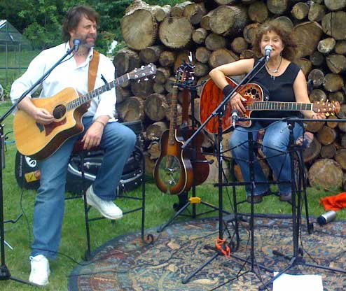 Tyringham house concert with Lance Gallup